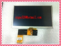 7inch lcd screen with touch panel digitizer for X 9 x10 hd-x10 GPS gl070009t0-40