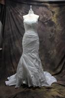 Fashion Sweetheart Off Shoulder Charming Mermaid Wedding Dress with Beading vestidos de noiva Wedding Dresses Free Shipping