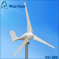 Fedex free shipping, 100W 12V/24V Wind turbine, star-up wind speed 2m/s