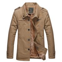 Super Hot sale Fashion jacket Reguler style Winter Autumn conventinal sleeve pocket Turn-down collar Casual coat Man jacket
