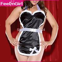 XXL Nightgowns New Women Satin Babydoll Sexy Nighties With G-string Elegant Sleepwear Sleeveless Pajama Women's Home Clothing