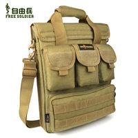 Tactical outdoor shoulder bag casual handbag 14 laptop bag picture package shoulder bag
