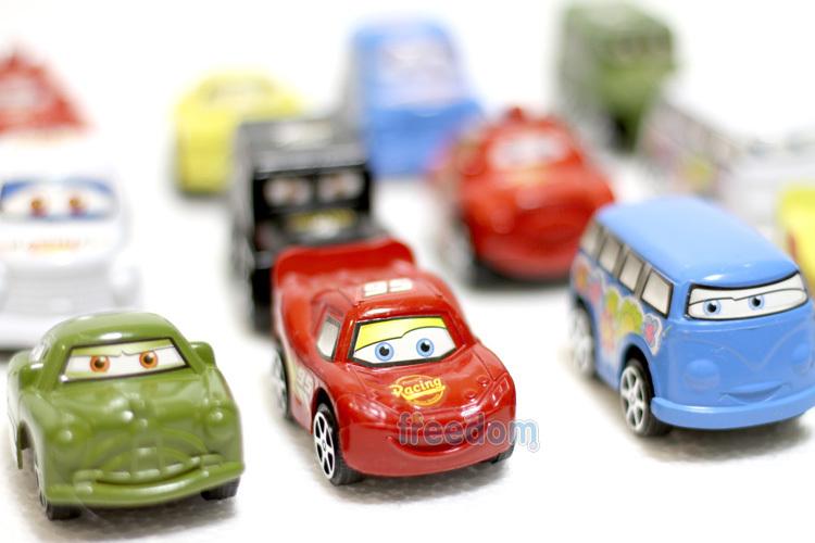 PVC 12pcs/set Car Figures Full Set Anime Cartoon Cars Mini Action Figure Remote Control Vehicle Pixar Classic Toys for Gift(China (Mainland))