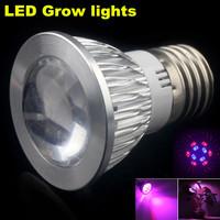 1X 10W (6Red+4Blue) E27/GU10 LED Grow lamp bulb for Flower plant Hydroponics system AC 85V -265V grow box