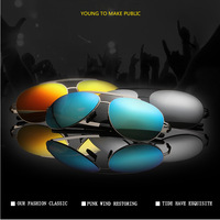 2015 new fashion Polarized WoMen Driving SunGlasses Super elastic stainless steel frame uv Protection  Multicolor Lens