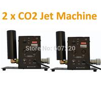 2x Co2 Jet machine  DJ effect equipment  Stage Efect Machine