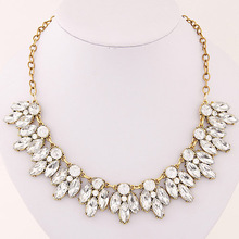 Vintage ZA Design Charm Vintage Bronzed Spain Geometry Bubble Choker Necklace Statement Necklaces Jewelry For Women 2015 M13