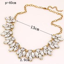 Vintage ZA Design Charm Vintage Bronzed Spain Geometry Bubble Choker Necklace Statement Necklaces Jewelry For Women
