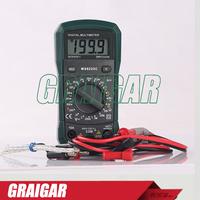 MS8233C Professional Digital Multimeter , Portable AC DC Voltage Current Multimeter