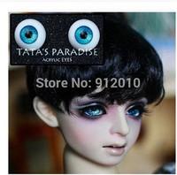 Cool Deep Blue Ice Metal eyes BJD Doll Acrylic Eyes 8mm,10mm,12mm,14mm 16mm,18mm  SD MSD YOSD
