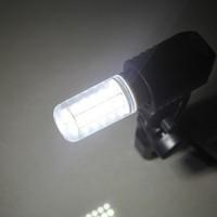 New 36LEDs SMD 5630 E14 220V LED Corn Bulb 9w 5630smd LED Lamp Warm white /white Chandelier Light Retail