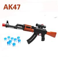 Ultra-Long-Range Water-Absorbent AK47 Gun Boy Toy Gun Bursts Of Non-Electric Crystal Soft Gun