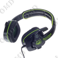 Stylish PC / Notebook Primary Gaming Headset Headphone w/ Microphone (3.5mm Plug)