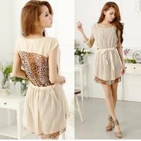 summer 2015 women dress fashion sexy dress  sleeveless pleated casual dress  F88