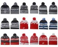 Ice Hockey sport Beanies hats Casquette Sport Adjustable mens womens gorras bones winter knitted caps