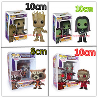 UNKO POP Bobble Head Guardians of the Galaxy Groot PVC Groot Star Lord Rocket Raccoon Action Figure Collection Toy  Groot Doll