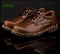 2014 New men Brand Oxfords boots leather brogues, Large size JEP breathable leather shoes of men free shipping