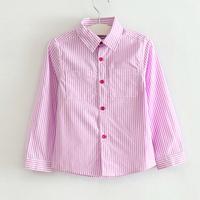 CS29 casual 2015 boys shirts for children blouse 3-10 age long sleeve blusa infantil menino boys clothes free shipping 5pcs/ lot