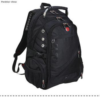 Swiss men's backpacks,army backpack bag 15 inch Laptop backpack,Men women business double shoulder Travel School computer bag