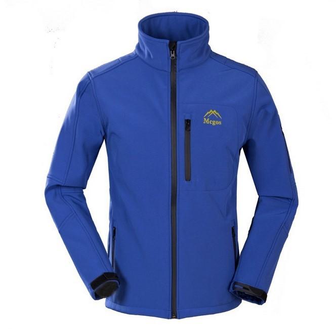 Fleece softshell jacket men outdoor sport OMNI-HEAT Thermal Heat Reflective jacket for climbing/hunting/camping soft shell coat(China (Mainland))