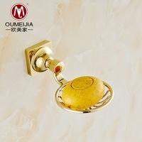 European manufacturers selling gold-plated zinc alloy bathroom soap net soap net soap holder bathroom hardware Q9002-1