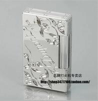 STDupont / Dupont lighters Lang sound original French carved silver Clover Movement