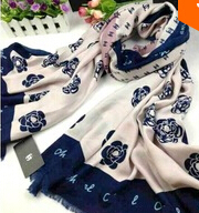"""HOT SALE . Brand """"C&C"""" Fashion & Noble Hit-Color Camellia Scarf , Comfortable Feeling . High Quality . FREE SHIPPING"""