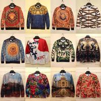 New Fashion Hoodies Sweatshirts Pullovers For Men/Women Rose Printed KFC 3D Pullovers Sweatshirts Printed Hoodies Tops S-XL