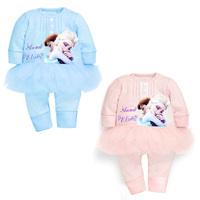 Carters Original Baby Girls Romper suit baby costume one-piece suit kids clothes girls Jumpsuit frozen babies rompers HB086