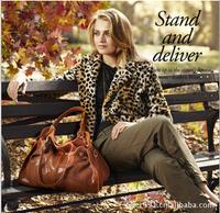 Genuine leather female cowhide women's leather handbag one shoulder cross-body handbag
