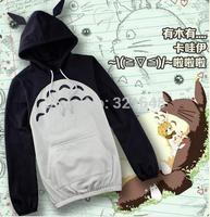 New Arrival Totoro Long Sleeve Hoodie Sweatshirts