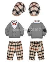 z03470 Newest Baby Boy sets kids clothing sets 3pcs/set  spring autumn baby clothing