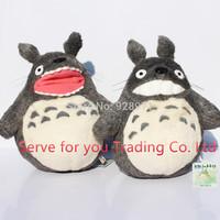 MY NEIGHBOR TOTORO STUDIO GHIBLI 28CM GRIN TOTORO SOFT PLUSH DOLL.Famous Cartoon Totoro Plush Smiling Stuffed ToysFree Shipping
