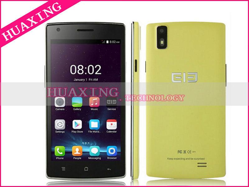 "Original Elephone G4 telefone celular 5 "" IPS 1280 x 720 MTK6582 Quad Core 1.3 GHz Android 4.4 1 GB RAM 4 G Dual Sim WCDMA GPS 8MP(China (Mainland))"