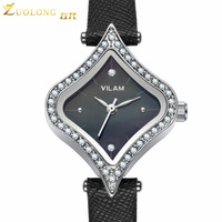 A generation of fat fashion casual female form personalized heart-shaped rhinestone belt ladies watches quartz watches V1021L