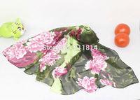 2015 hot wonderful flower long soft scarfs wrap shawl for elegant women han edition scarves