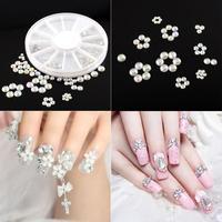 New Lovely 4 Size 300pcs Crystal Rhinestone Nail Art Tips Decoration Tools free shipping