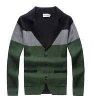 Free shipping 2015 spring fashion men's sweater men's V-neck sweater jumper men's winter jacket Slim casual cardigan sweater