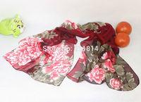Women fashion 2014 New women Plaid silk scarves polka velvet scarf chiffon Bohemia Scarf Warm female shawl Christmas gift