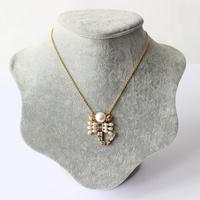 2014 Popular Women Fashion Accessories Constellation 12 Pearl Pendant Necklace Gold Chain female Jewelry necklace ,NE001