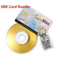16 in 1 Super SIM Card Reader Writer Cloner Edit Copy Backup GSM CDMA USB Kit