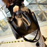 Large Capacity Composite Bags for Women Fashion Casual Bucket Bags Famous Brand Leather Shoulder Bag Bolsa Vintage Messenger Bag