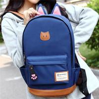 The children's favorite Han edition backpack  shoulder bag college students
