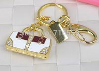 usb flash drive Golden and sliver handbag diamond bag U disk pen drive Gift Jewelry  8gb 16gb 32gb 64gb pendrive memory disk