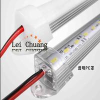 Free ship  Fast Shipping 20pcs/lot, 1 meter/pc Light Bar Slot Profile for Rigid Aluminum LED Strip + Waterproof Cover+ End Caps