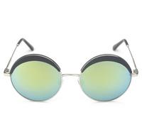 T14122401, Tianluse, 1 Pair/lot, Plastic Frame Resin Round Lens UV proof Sun Block New Sunglasses , Free Shipping