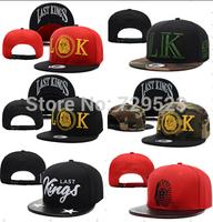 Top 2015  New  TYGA Last Kings Snapback Pharaoh BBOY hip-hop baseball cap flat-brimmed hat adjustable hat