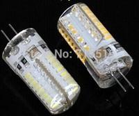 NEW G4 Led Bulbs 4w 64 SMD 3014  Lamp 360 degree Warm/  White G4 200PCS Free shipping