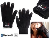 Winter Warmer IGlove Touch Screen Bluetooth Talking Gloves Built-in Speaker/Microphone For Cellphone