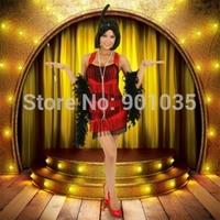 FREE SHIPPING 20s 1920s Charleston Flapper Fancy Dress Costume Halloween Cigarette Holder